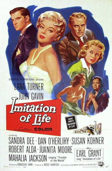 Wall Art - Painting - Classic Movie Poster - Imitation Of Life by Esoterica Art Agency