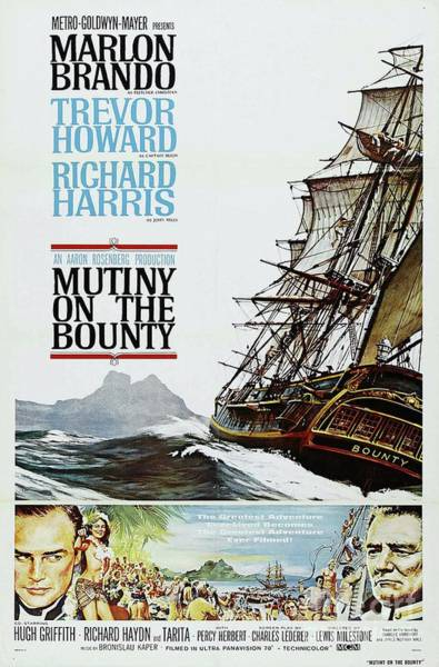Howard Painting - Classic Movie Poster - Mutiny On The Bounty by Esoterica Art Agency