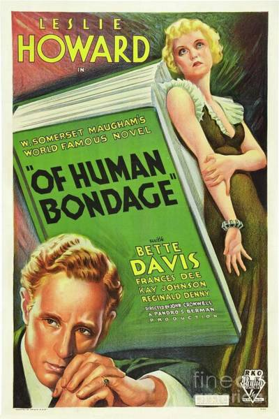 Howard Painting - Classic Movie Poster - Of Human Bondage by Esoterica Art Agency