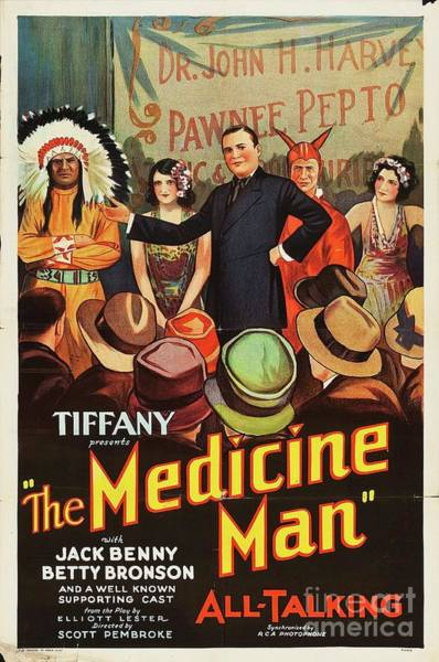 Benny Painting - Classic Movie Poster - The Medicine Man by Esoterica Art Agency