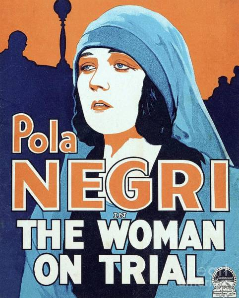 Trial Painting - Classic Movie Poster - The Woman On Trial by Esoterica Art Agency