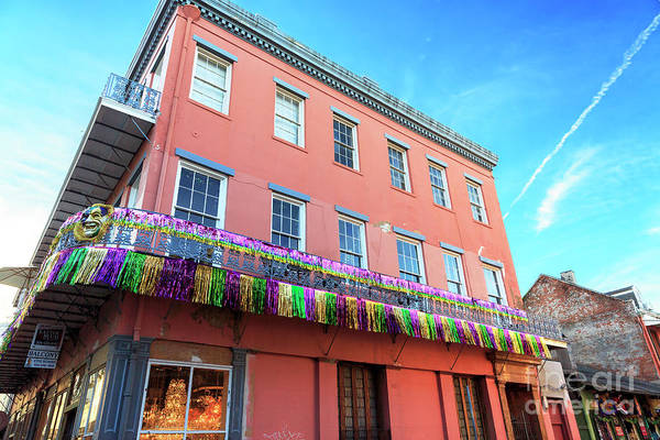 Photograph - Classic New Orleans Building by John Rizzuto