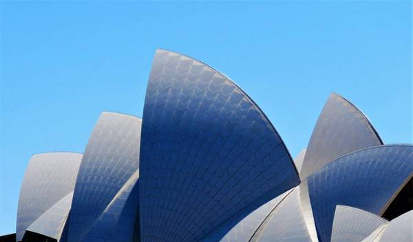 Wall Art - Photograph - Classic Opera House Sails by Joan Stratton