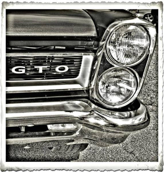 Photograph - Classic Pontiac by Bruce Gannon