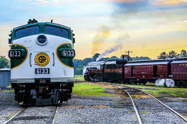 Photograph - Classic Railroad Power by Dale R Carlson