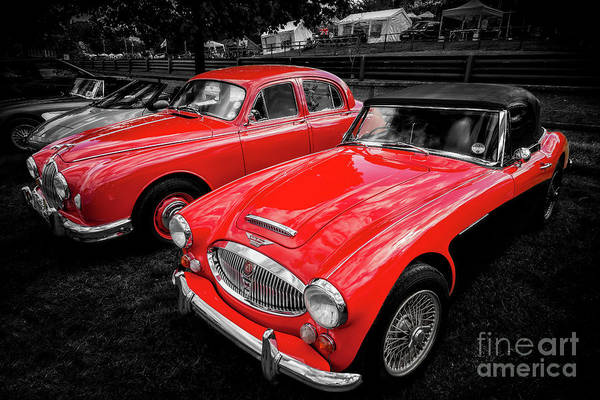 Wall Art - Photograph - Classic Red by Adrian Evans