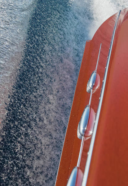 Photograph - Classic Riva And Water by Steven Lapkin
