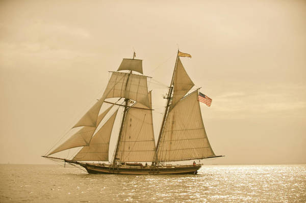 Photograph - Classic Schooner Virginia by Mark Duehmig