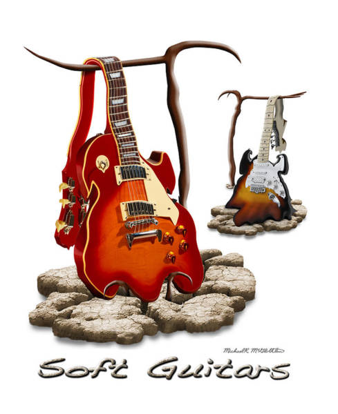 Wall Art - Photograph - Classic Soft Guitars by Mike McGlothlen