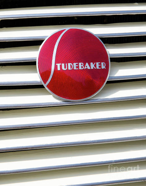 Wall Art - Photograph - Classic Studebaker Logo by Kevin McCarthy