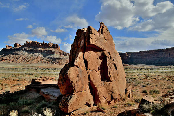 Photograph - Classic Western Landscape Along Utah 313 by Ray Mathis