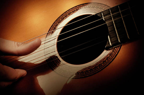 Guitarist Photograph - Classical Guitar by Bns124