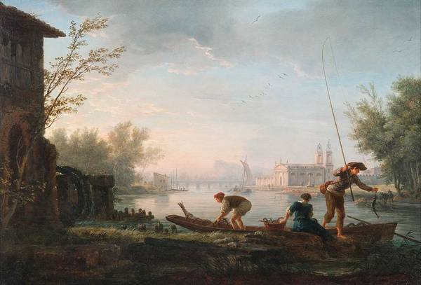 Wall Art - Painting - Claude-joseph Vernet, The Four Times Of Day by Celestial Images