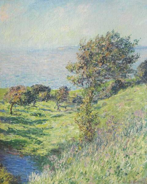 Wall Art - Painting - Claude Monet  1840-1926  Gale, Landscape by Celestial Images
