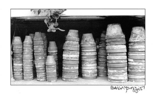 Photograph - Clay Pots by Patricia Youngquist