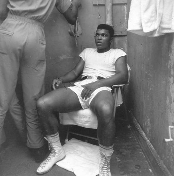 Muhammad Ali Photograph - Clay Rests by Harry Benson