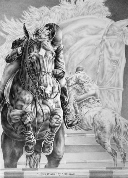 Drawing - Clean Round by Kelli Swan