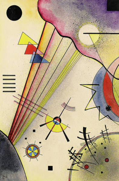 Wall Art - Painting - Clear Connection, 1925 by Wassily Kandinsky