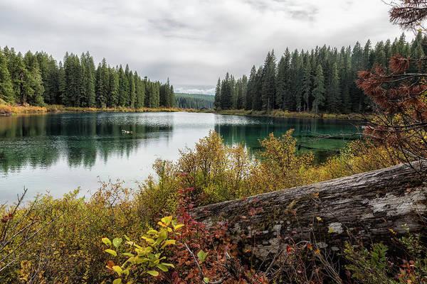 Photograph - Clear Lake, Fall 2018, No. 3 by Belinda Greb