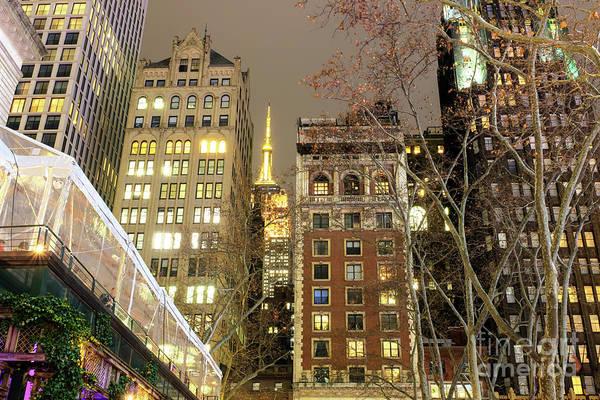Photograph - Clear Night In Manhattan by John Rizzuto