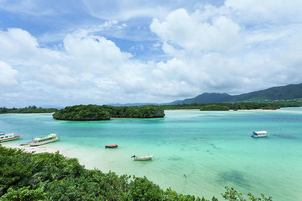 Okinawa Photograph - Clear Tropical Lagoon, Ishigaki Island by Ippei Naoi