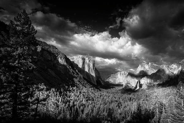 Wall Art - Photograph - Clearing Storm Over Yosemite by Andrew Soundarajan