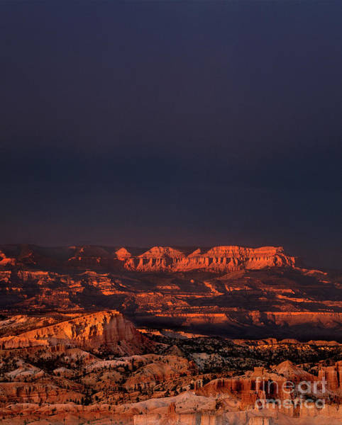 Photograph - Clearing Storm Rainbow Bryce Canyon National Park Utah by Dave Welling