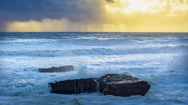 Wall Art - Photograph - Clearing Storm by Steve Spiliotopoulos