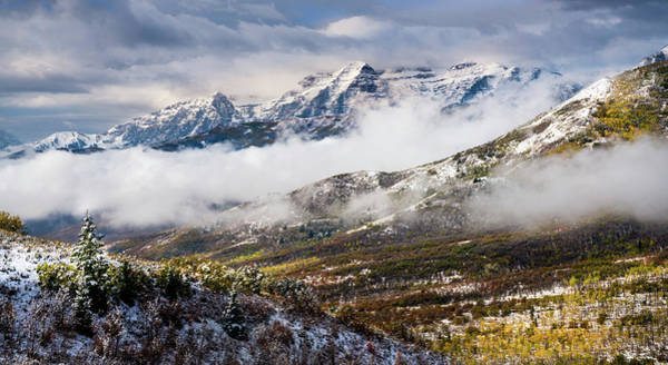 Photograph - Clearing Storm Over Timpanogos by TL Mair