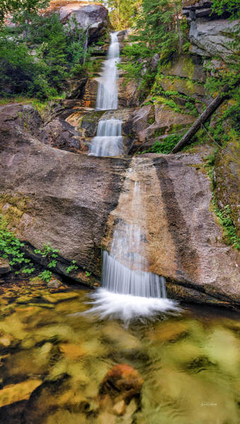 Photograph - Clearwater Waterfall. by Leland D Howard