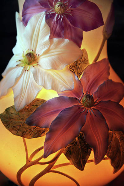 Photograph - Clematis Still Life  by Jessica Jenney