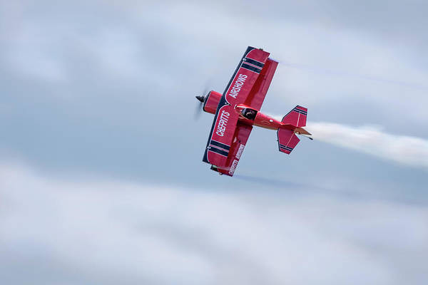 Photograph - Clemens Kuhlig Racing Overhead by Todd Henson