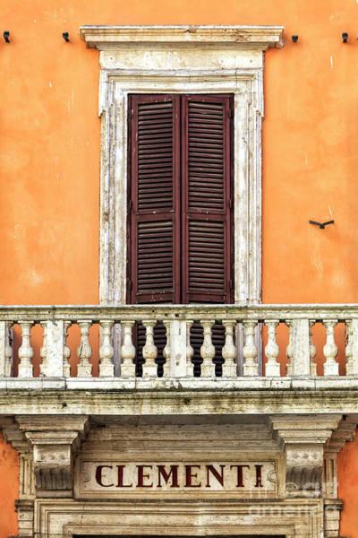 Clementi Rome Italy Art Print by John Rizzuto