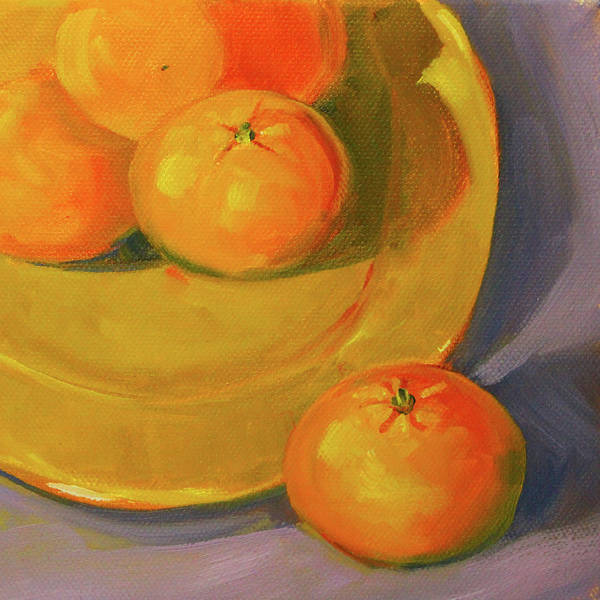 Wall Art - Painting - Clementine 3 by Nancy Merkle