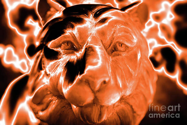 Photograph - Clemson Tiger Strong by Dale Powell