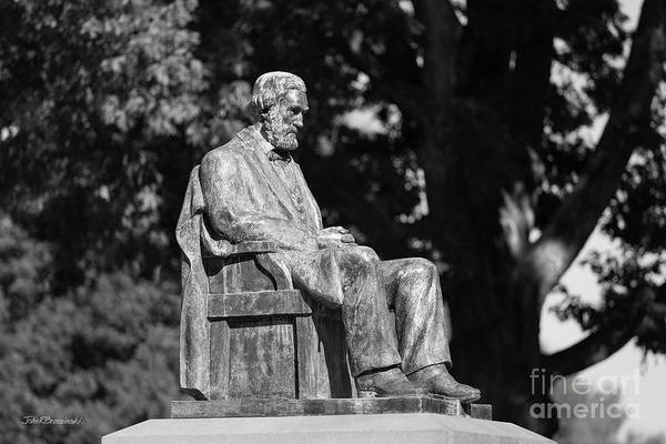 Photograph - Clemson University - Clemson Statue by University Icons