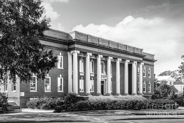 Photograph - Clemson University Sikes Hall by University Icons