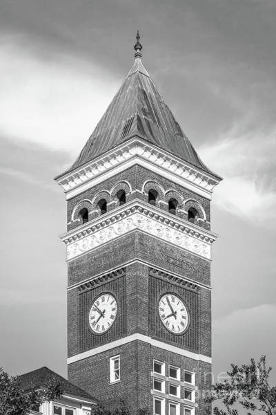 Photograph - Clemson University Tillman Hall Tower by University Icons