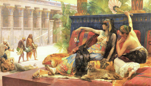 Condemned Wall Art - Painting - Cleopatra Testing Poisons On Condemned Prisoners - Digital Remastered Edition by Alexandre Cabanel