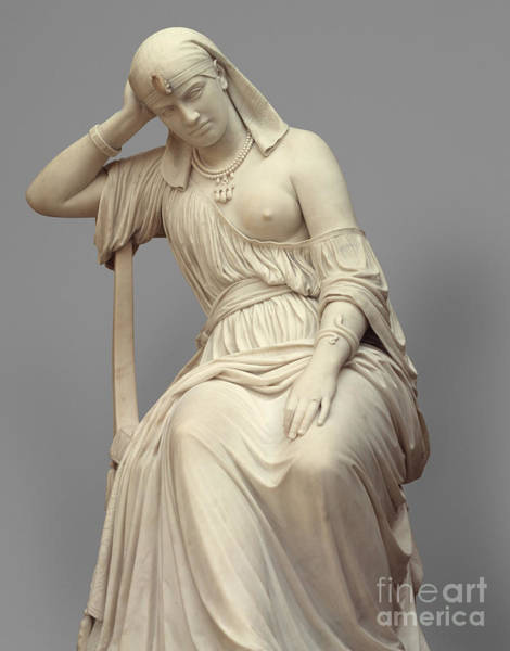Wall Art - Sculpture - Cleopatra,  Marble by William Wetmore Story