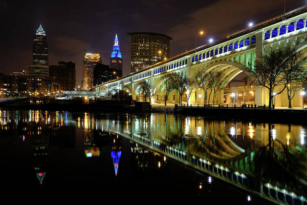 Photograph - Cleveland After Dusk by Clint Buhler