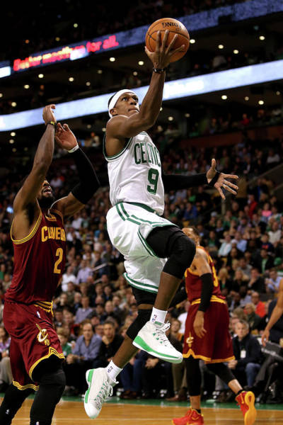 ea1e42896de0 Kyrie Irving Photograph - Cleveland Cavaliers V Boston Celtics by Mike  Lawrie