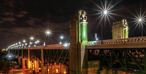 Wall Art - Photograph - Cleveland Lights  by Richard Kopchock