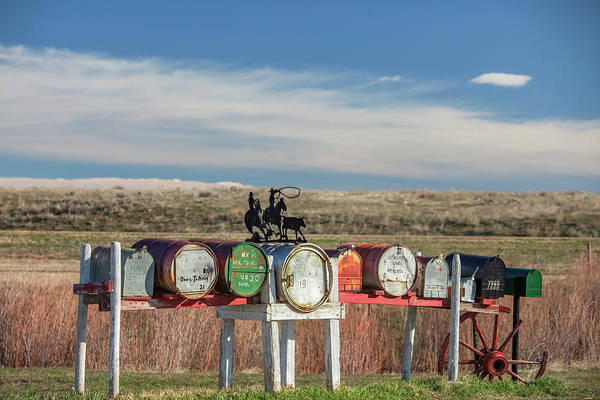 Photograph - Cleveland Mailboxes by Todd Klassy