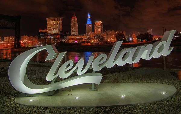Photograph - Cleveland Proud  by Richard Kopchock