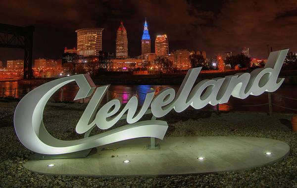 Wall Art - Photograph - Cleveland Proud  by Richard Kopchock