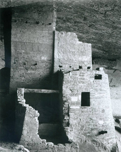 Close Up Photograph - Cliff Palace, Mesa Verde National Park by Archive Photos