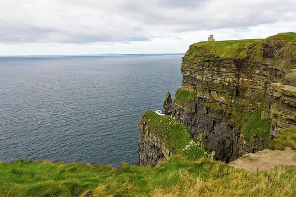 The Burren Photograph - Cliffs by Eric Sturdivant