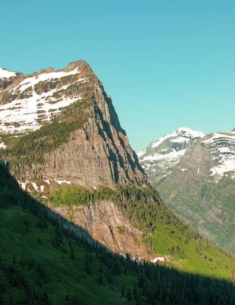 Photograph - Cliffs Of Glacier National Park by Todd Klassy