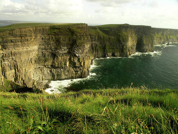 The Burren Photograph - Cliffs Of Moher by Abenaa